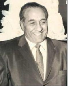 """Anthony """"Joe Batters"""" Accardo, bodyguard to Al Capone and Boss of Bosses of the Chicago Mob from the 40s to his death, of natural causes, in 1992."""