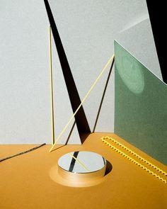Jiaxi Yang: The Horizontal Mode of A Waking Life. Beautiful geometric composition using shadows.