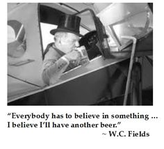 W.C. Fields on #Beer #quotes #humor