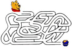 Labirintul lui Winnie the Pooh Mazes For Kids Printable, Worksheets For Kids, Reading Activities, Preschool Activities, Special Pictures, First Grade Reading, Activity Sheets, Disney Crafts, Colouring Pages