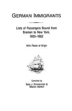 The second volume of German Immigrants provides information on about 35,000 German immigrants from Bremen who arrived in New York from 1855 to 1862. The names are arranged alphabetically, and family members are grouped together, usually under the head of the household. In addition, data on age, place of origin, date of arrival, and the name of the ship are supplied, plus citations to the original source material. #Genealogy #Germans