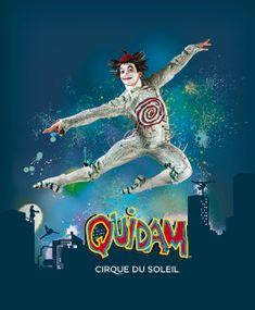 Quidam, Verizon Center, Washington, D.C., 2011 - A young girl's escape into a world of imagination.