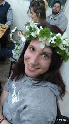 Floral Art Seminars SANKA 2018   Wire techniques Dimitrs Papadakis   Floral Crowns