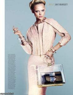 Viktoriya Sasonkina in 'All Clear' - Photographed by Benjamin Lennox (W March 2013)    Complete shoot after the click...