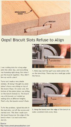 Oops! Biscuit Slots Refuse to Align