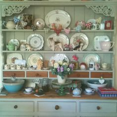 Our lovely welsh dresser.