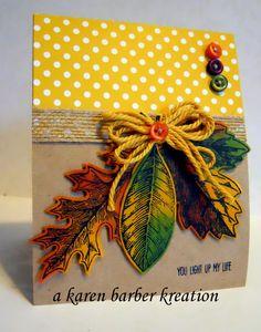 CC598 DT Sample- Karen's card