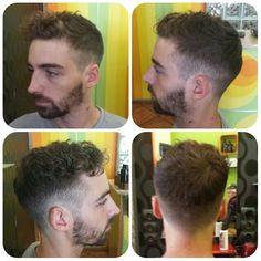 La actualudad y las tendencias son parte del día a día en @santanapeluqueros e intentamos plasmarlo en nuestros #cortesdepelo. #santanapeluqueros #cortestendencia #trend #haircut #boucles #curl #cabello #masculino #peluqueriamasculina #peinados #americancrew #playadesanjuan #Alicante  (en Santana Peluqueros Hair&Art)