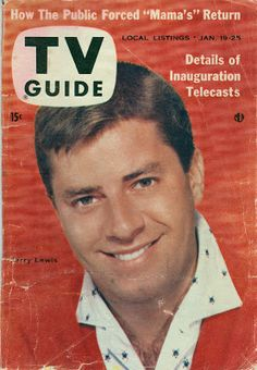 tv guide 1977 - jerry lewis
