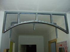 voûte en placo - Le blog de ludo le bricolo Gypsum Design, Ludo, Cement Siding, Bedroom False Ceiling Design, Plafond Design, Steel Frame Construction, Metal Working Tools, Floating Shelves Diy, Metal Projects