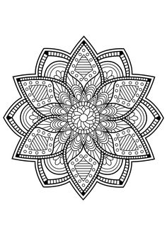 Mandala Free Coloring Pages. 20 Mandala Free Coloring Pages. Coloring Pages Mandala From Free Coloring Books for Adults Puppy Coloring Pages, Pattern Coloring Pages, Printable Adult Coloring Pages, Flower Coloring Pages, Coloring Pages To Print, Coloring Book Pages, Coloring Pages For Kids, Kids Coloring, Coloring Sheets