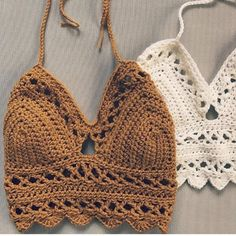 Crochet Pattern The Lace Bralette Pattern. ****** This listing is for an INSTANT DOWNLOAD Crochet Bralette PATTERN PDF, not a finished Bralette********* Crochet Pattern to make Size:Adjustable to Fit any Women Can be made with any worsted weight yarn #4 Patterns are written