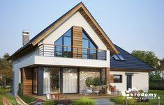 Modern Brick House, Modern Bungalow House, Modern House Design, Tiny House Cabin, Hemnes, Home Design Plans, Small House Plans, Cabana, Kylie Jenner