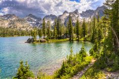 Alice Lake, Stanley, Idaho.