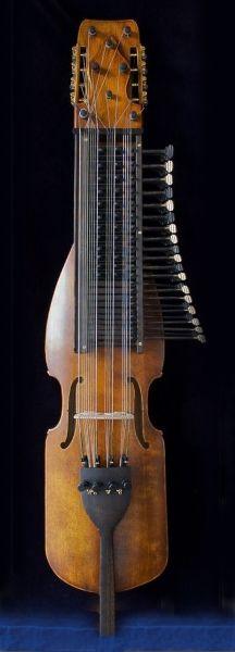 """Nyckelharpa """"Road Worn"""" : : made by Peder Källman, violin and nyckelharpa maker, 2011"""