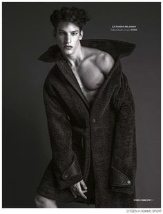Iasonas Laios + Lucas Mikulski Go Nude for Fendi Fall 2014 Editorial in Citizen K Homme Sport