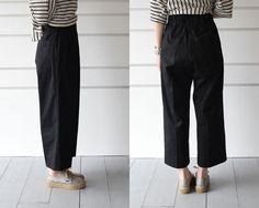 forte forte:wide pants- CUL DE PARIS online store