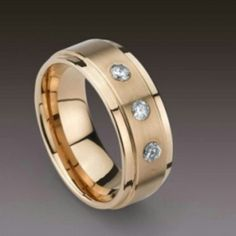 male wedding ring for a G ;)  This would look better in silver