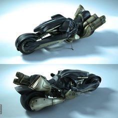 Fenrir from Final Fantasy VII: Advent Children movie. I want this bike so bad and it's the first thing I'd have built if I was rich.