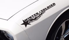 2x Bucky Hand Winter Bad Evil Side Body Captain Avengers War Car Sticker Decal #AveryOracalfilms