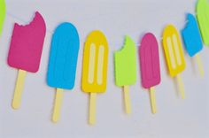 DIY Popsicle Garland - Make Life Lovely