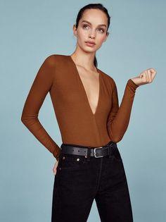The Romy Bodysuit  https://www.thereformation.com/products/romy-bodysuit-pumpkin?utm_source=pinterest&utm_medium=organic&utm_campaign=PinterestOwnedPins