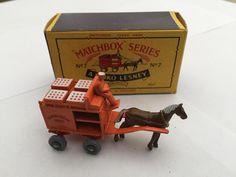 Matchbox Moko Lesney No7 Milk Float Boxed