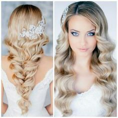Gorgeous hair for a wedding