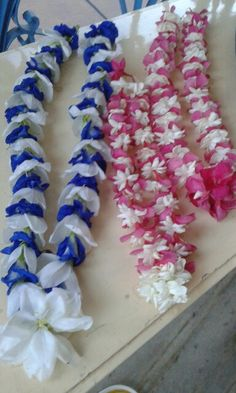Garlands made by mom