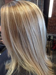 Dimensional blonde glazed with Wella Illumina 10/36 #balayage #wellahair #illumina