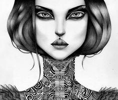 Inspiration - Sketch Artist  Antonina Saiko