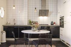 Modernt kök i industriell stil Interior