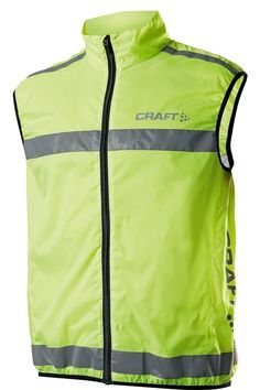 Hi-Viz Hi Vis High Visibility Fluorescent Running   Cycling Vest Gilet Top  (L 42