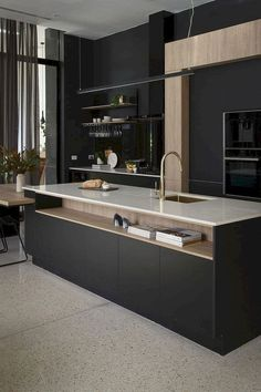 Perfectly-Designed Modern Kitchen Inspirations (165 Photos) https://www.futuristarchitecture.com/22124-modern-kitchen-designs.html #modernkitchendesign