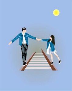Read from the story Kumpulan Gambar Untuk Cover Wattpad by (Nissa Ariella) with reads. Love Cartoon Couple, Cute Love Cartoons, Anime Love Couple, Tumblr Couples, Anime Couples, Cute Couples, Cute Couple Drawings, Cute Couple Art, Wallpapers Tumblr
