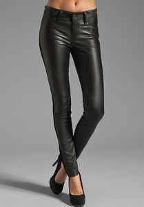 Marc Jacobs Leather Skinnies
