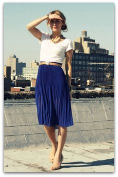 Day 7. Daily Style. Skirt. join in the fun on instagram with the #sgdailystyle