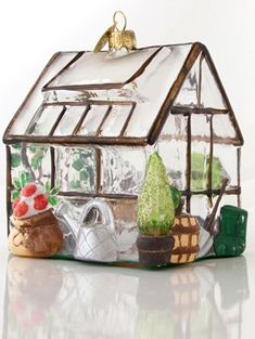 Large Greenhouse Decoration