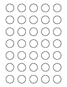 Inch Circle Template Printable And Many Other Sizes  Bottle