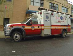 FDNY HAZ TAC Ambulance 573 Ford F-450