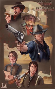 Fantasy Comics, Anime Fantasy, Wild West Games, Walking Dead Wallpaper, Red Dead Redemption 1, Read Dead, The Last Of Us2, Rdr 2, Angel Aesthetic