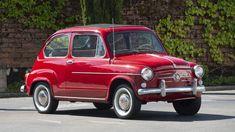 Fiat 600, Leaf Spring, Drum Brake, City Car, Grey Paint, Manual Transmission, Auction, Classic, Derby