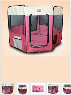 Sugar Glider playpen- this would be a good travel pen for the fur baby