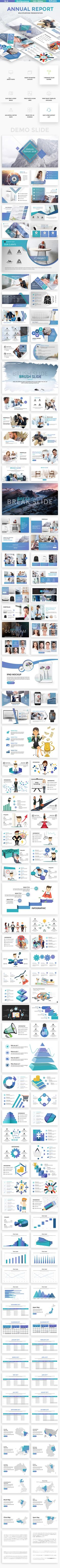 Annual Report #Powerpoint Template - Business PowerPoint Templates
