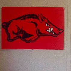 Hand painted hog
