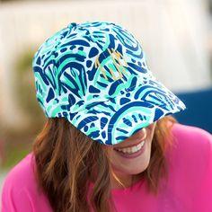 Make Waves Monogrammed Cap Girls Baseball Hats d62380fa6e72