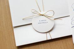 Phatt. design & letterpress - Convites de casamento. Questi sono fatti da una mia amica!