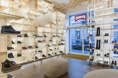 Camper store on Montenapoleone, Milan, 2014 - Kengo Kuma and associates