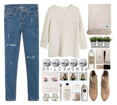 Vilde by owlmarbles on Polyvore featuring MANGO, WithChic, H&M, Forever 21, Givenchy, rms beauty, Herbivore, philosophy, Torre & Tagus and DAY Birger et Mikkelsen
