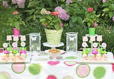 Whimsical Zebra Garden Party - Bella Paris Designs